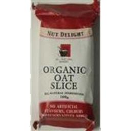 Photo of All Natural Bakaer Organic Oat Slice Peach & Mango 100g