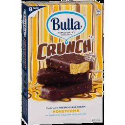 Photo of Bulla Ice Cream Crunch Honeycomb 8s