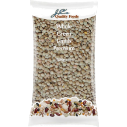 Photo of Jcs Lentils Whole Green A Grde 500gm