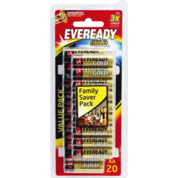 Photo of Eveready Batteries Gold Aa 20pk