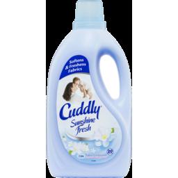 Photo of Cuddly Sunshine Fresh Fabric Softener Conditioner Long Lasting Fragrance 2l