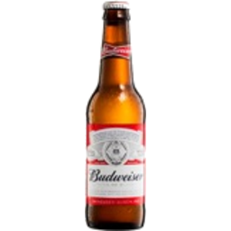 Photo of Budweiser Beer Bottle 330ml