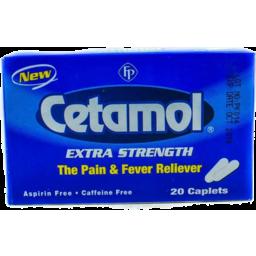 Photo of Cetamol Extra Strength