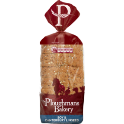 Photo of Ploughmans Soy & Canterbury Linseed Bread 750g