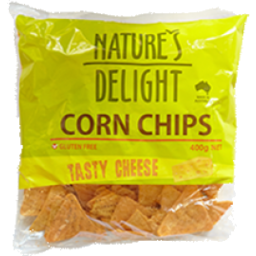 Photo of Natures Delight Cheese Corn Chip 400gm