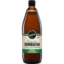 Photo of Remedy Organic Kombucha Lemon Lime Mint 750ml 750ml