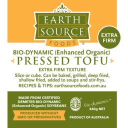Photo of Earth Source Pressed Tofu 360g