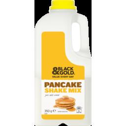 Photo of Black & Gold Pancake Shake Mix 350g