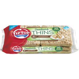 Photo of Tip Top® Sandwich Thins Wholemeal 6 Pack