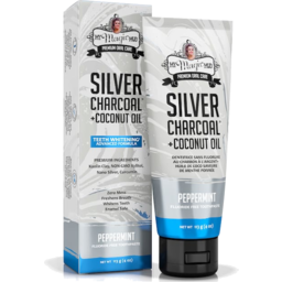 Photo of My Magic Mud Peppermint Silver-Charcoal Whitening Toothpaste