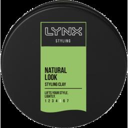 Photo of Lynx Hair Styling Wax Black Casual Clay 75ml