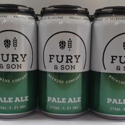 Photo of Fury & Son Pale Ale 6*375ml