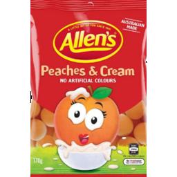Photo of Allens Peach & Cream 170g