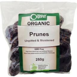 Photo of Absolute Organics Dried Prunes 250g