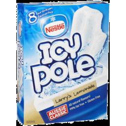 Photo of Nestle Icy Pole Larrys Lemonade 8pk 600ml