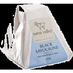 Photo of Black Savourine Goats Cheese 110gm