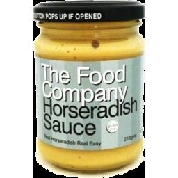 Photo of The Food Company Horseradish Sauce 210gm