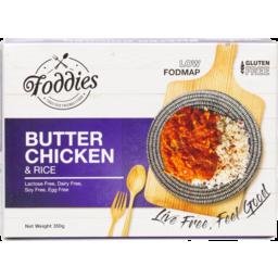 Photo of Foddies Frozen Meal - Butter Chicken & Rice