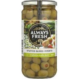 Photo of Always Fresh Spanish Stuffed Olives 450gm