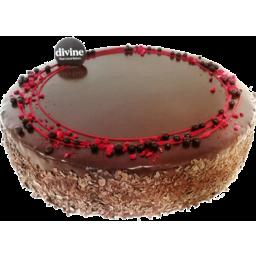 Photo of Divine Chocolate Raspberry Torte Small
