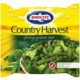 Photo of Birds Eye Country Harvest Spring Greens Mix 1kg