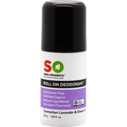 Photo of Saba Organics Tasmanian Lavender & Green Tea Roll On Deodorant 50ml