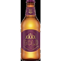 Photo of Xxxx Gold Australian Lager Soo19 375ml Bottle