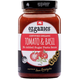 Photo of Ozganics Pasta Sauce - Tomato & Basil