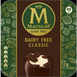 Photo of Magnum Dairy Free Classic 270ml 3pk
