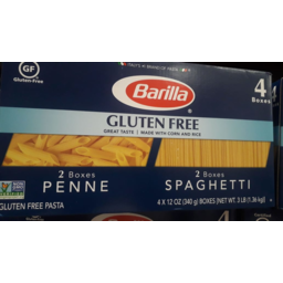 Photo of Barilla Gluten Free Penne & Spaghetti Combo