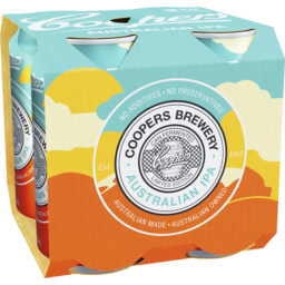 Photo of Coopers Australian Ipa Cans - 4 X 375ml