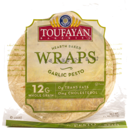 Photo of Toufayan Garlic Pesto Wrap