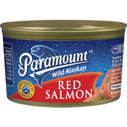 Photo of Paramount Wild Alaskan Red Salmon 210g
