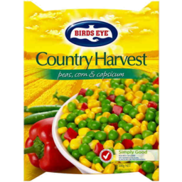 Photo of Birds Eye Country Harvest Peas Corn & Capsicum 500gm