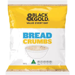 Photo of Black & Gold Bread Crumbs 500g