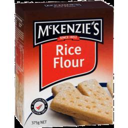 Photo of McKenzies Rice Flour 375g