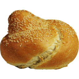 Photo of Crusty Sesame Seeded Knot Roll