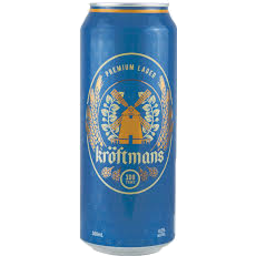 Photo of Kroftmans Lager Bottles - 24 X 500ml
