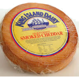 Photo of King Island Stoke Point Smoked Cheddar