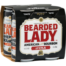 Photo of Bearded Lady & Cola Cans