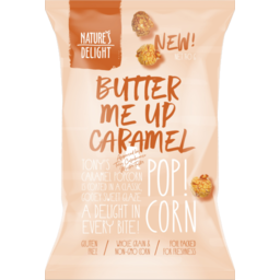 Photo of N/Del Pop Corn - Caramel 140g