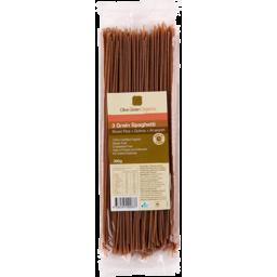Photo of Olive Green Organics Pasta - 3 Grain Spaghetti (Brown Rice, Quinoa & Amaranth)