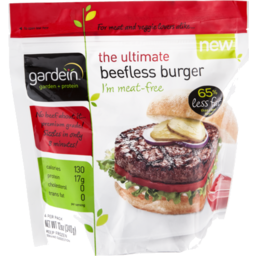 Photo of Gardein The Ultimate Beefless Burger - 4 Ct