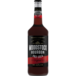 Photo of Woodstock & Cola 4.8% Bottle 660ml