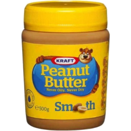 Photo of Kraft Peanut Butter Smooth 500gm