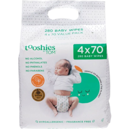 Photo of Tooshies by TOM Baby Wipes Value Pack