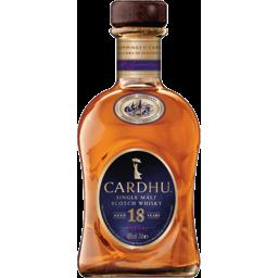 Photo of Cardhu 18 Years Old Single Malt Scotch Whisky 700ml