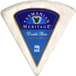 Photo of Tasmanian Heritage Double Brie 140gm