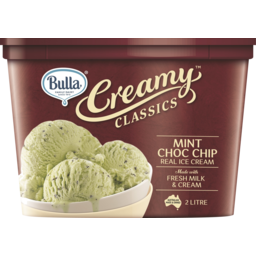 Photo of Bulla Creamy Classics Mint Choc Chip 2