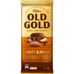 Photo of Cadbury Old Gold Roast Almond Dark Chocolate 180g